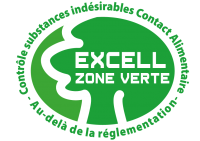 EXCELL LABEL VERT -ZVE_Contact_Alimentaire